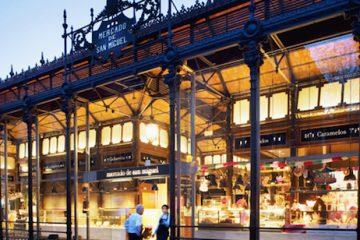 Del Mercado de San Miguel al Mercado de San Antón parando en Lhardy