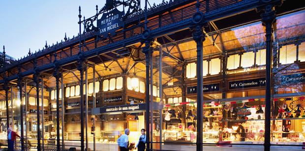 Plan gastro. De mercados por Madrid.