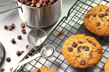 Cookies muy fáciles en tan solo un cuarto de hora.