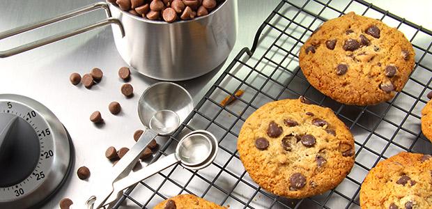 Receta de cookies en un cuarto de hora.