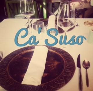 Ca' Suso, Asturias en el plato.