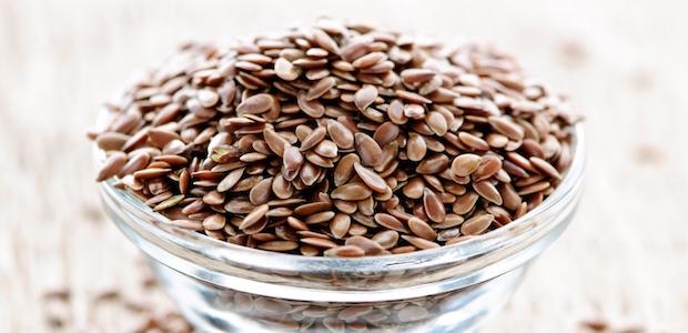 Galletitas crujientes de semillas de lino