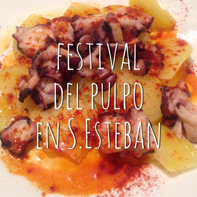 Presentación del primer festival de Pulpo de San Esteban
