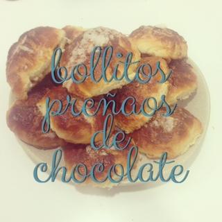 "bollo ""preñao"" de chocolate"