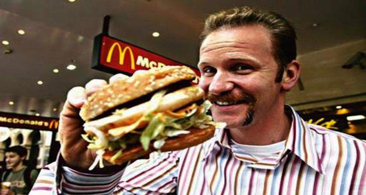 El cine y la comida rápida. Registrando lo (mal) que comes.