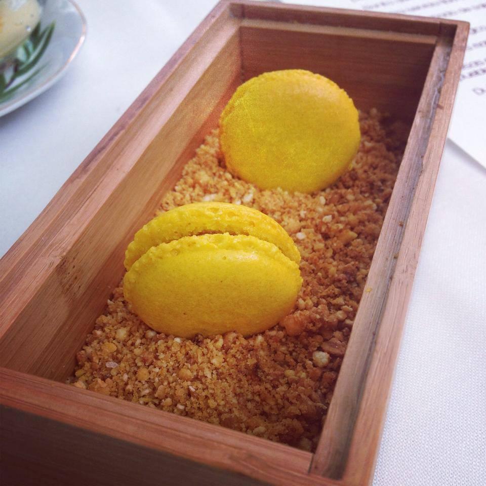 Resultado de imagen de macarons de maiz sabadiego