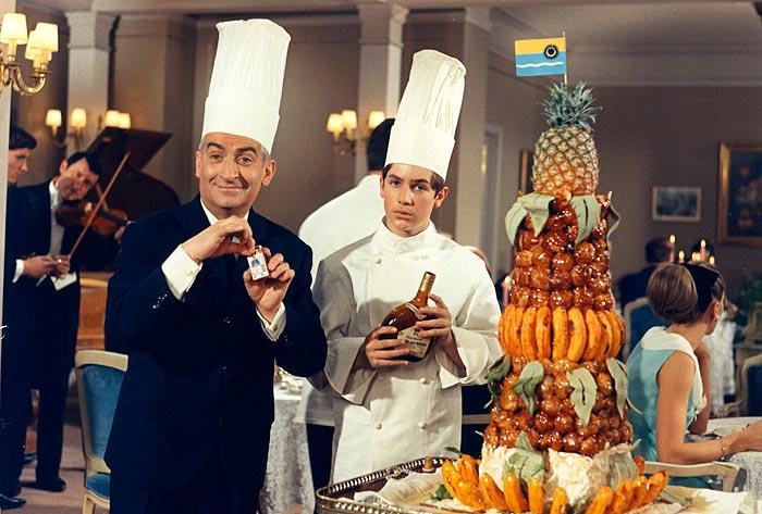 Louis de Funes, ¿cómico gastronómico?