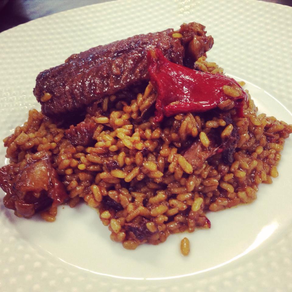 arroz con poitu