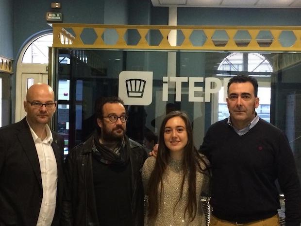 Carmen Ordiz de G de Gastronomía con Juan Luis Garcia  y Carles Mampel entre otros.