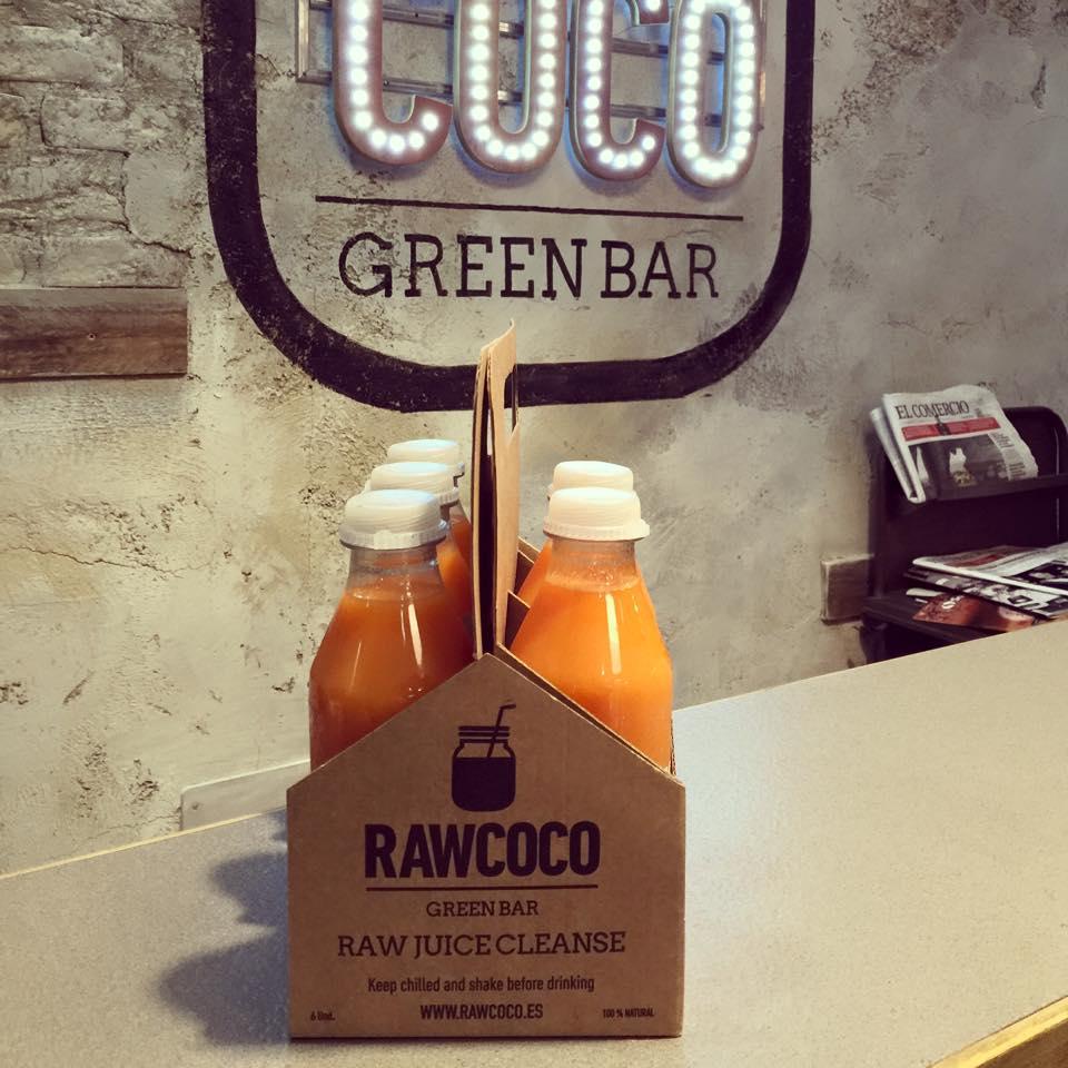 Raw Coco de Gijón.