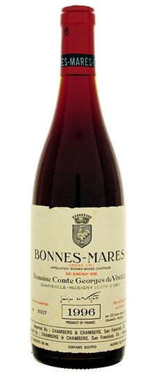 Comtes de Vögue Bonnes Mares 1996 (A.O.C. Borgoña)