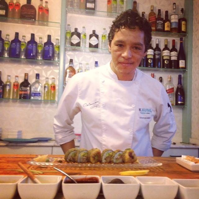 chef Cesar Becerra.