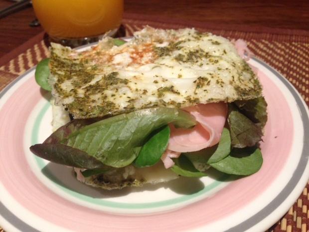 Recetas fitness: Sandwich sin pan