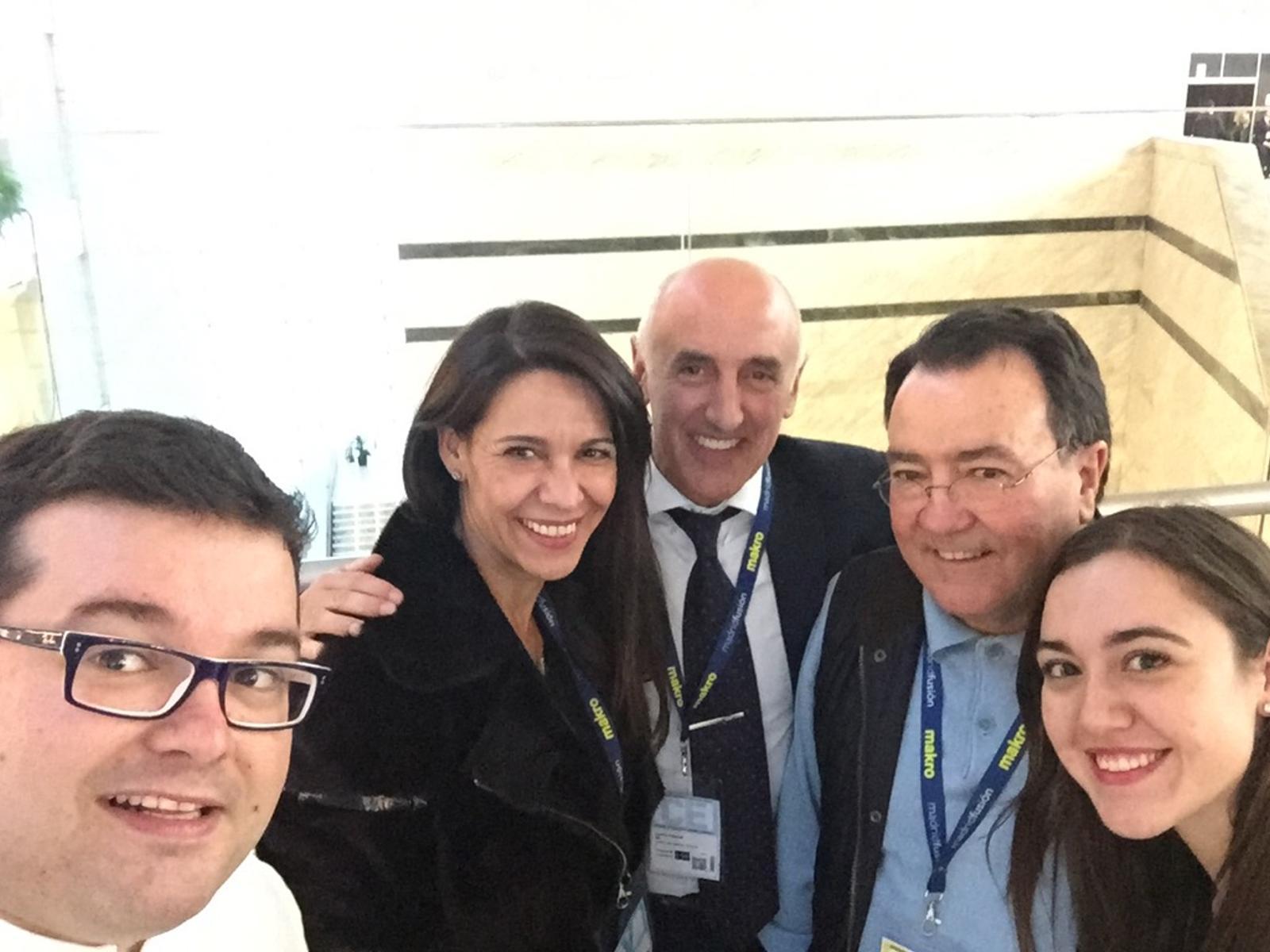 """Marcos Morán (Rey de los selfies), Iratxe Miranda, Cafés Toscaff y Pedro Morán de<a title=""""Casa Gerardo, cuestión de generaciones."""" href="""