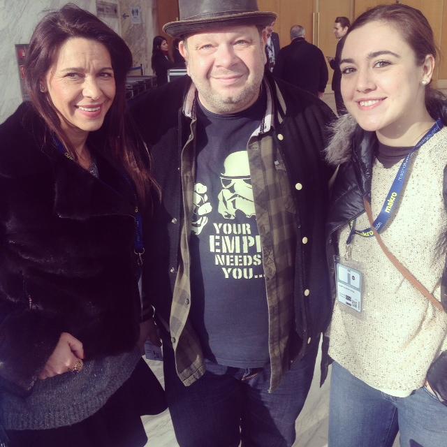 Con el televisivo personaje Alberto Chicote.