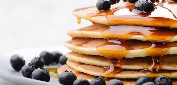 Recetas fitness: pancakes de centeno
