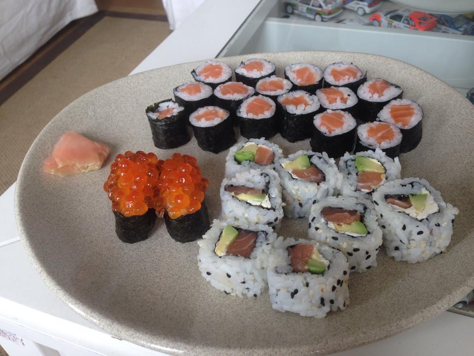 Restaurante shushi Cafe San en Oviedo