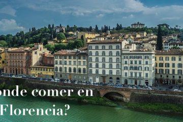 ¿Dónde co¿Dónde comer y disfrutar de la gastronomía en Florencia?mer en Florencia?