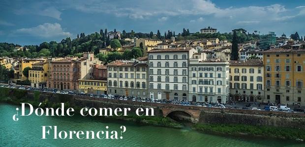 ¿Dónde comer y disfrutar de la gastronomía en Florencia?