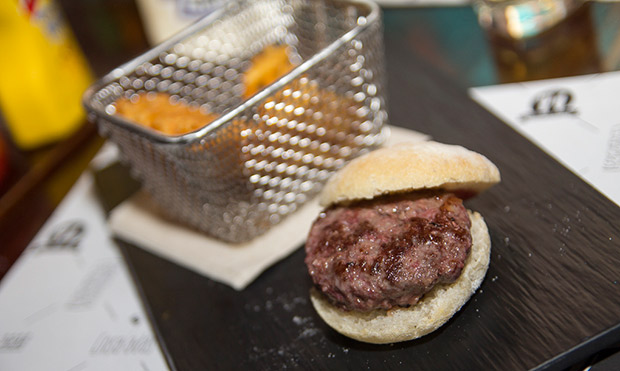 Hamburguesa de O'Haras de carne de Tudanca