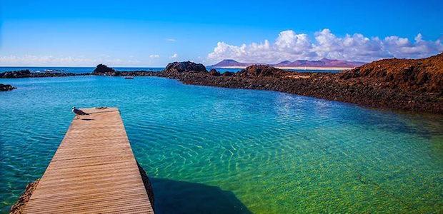 Isla de Lobos, el paraíso está en el norte de Fuerteventura