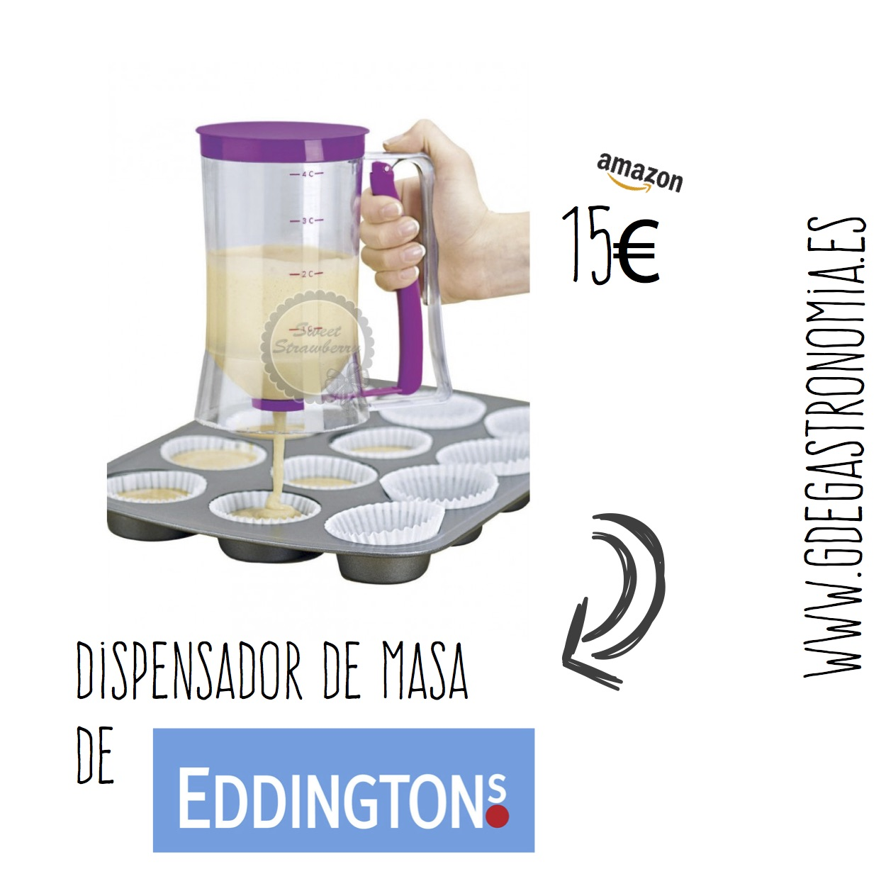 Dispensador de masa de Eddingtons