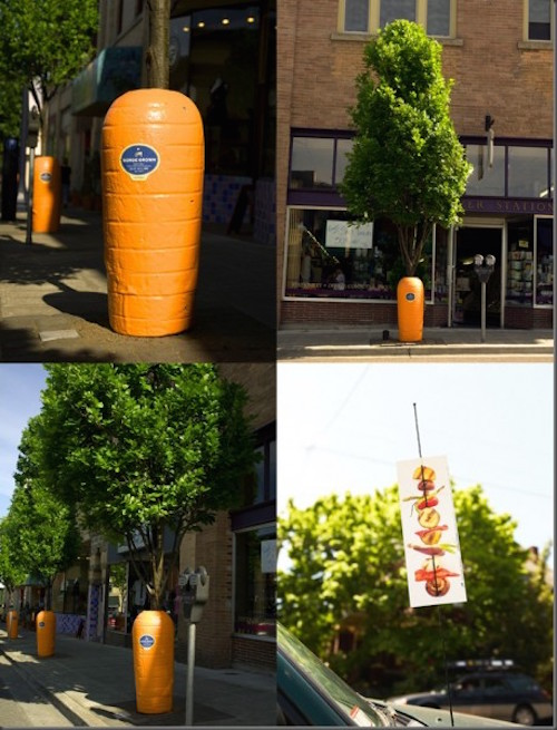Giant-Carrot-over-Tree-Local-Food-Mart-Guerrilla-Marketing-Campaign-458x600
