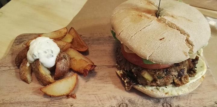 La hamburguesa Merry Burger