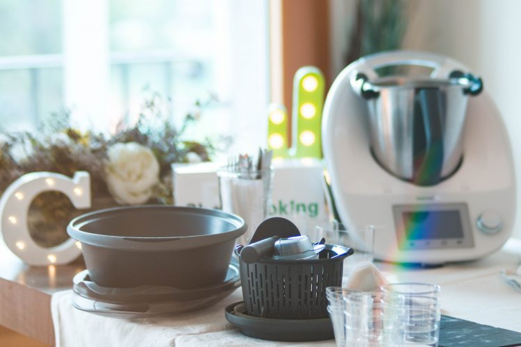 Anfitriona de showcooking Thermomix