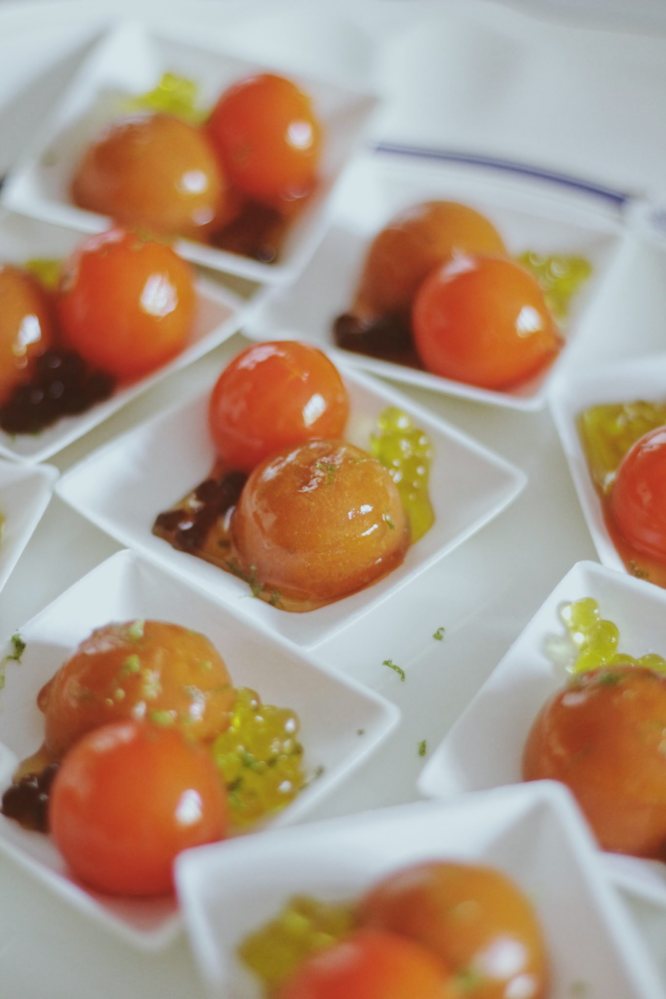 esferificaciones tomate recetas caviaroli
