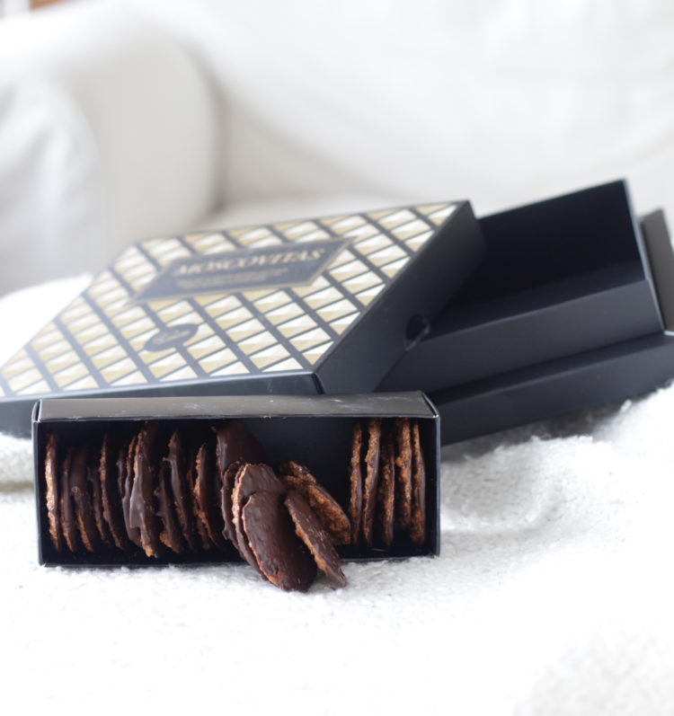 Moscovitas de chocolate negro
